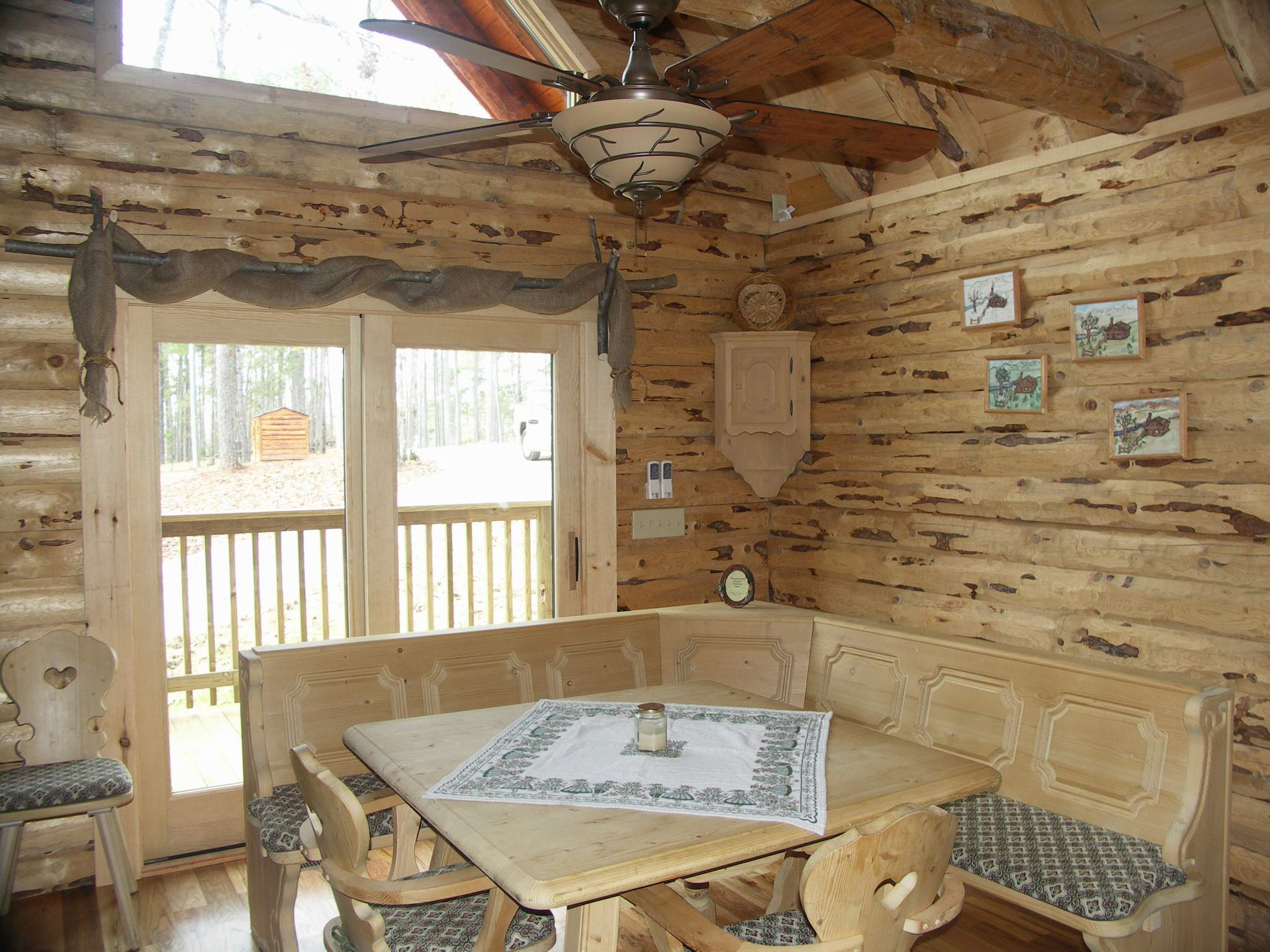 Rustic Log Homes